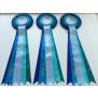 Babyblå-Lyseblå-Blågrøn-Turkis-Koboltblå m. 5 haler